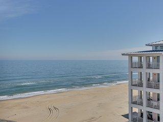 Oceanview Penthouse Condo, in a beachfront development!