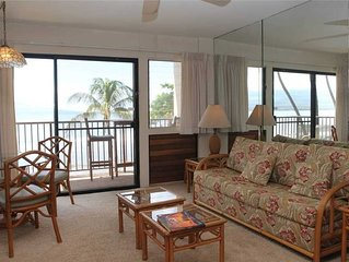 HK-B7 - Maui Oceanfront Condo on the Serene Beach of Ma'alaea Bay has Spectacula