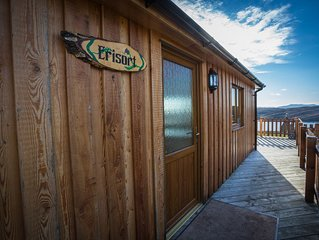 Self catering holiday chalet Erisort