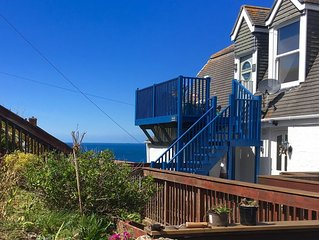 Stunning Seaside Hideaway;  Close to the Beach with Unbeatable Sea Views