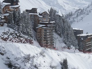 An unusually large, ski in/ski out, 4 Star apartment
