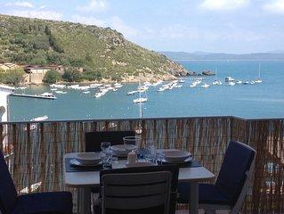 delizioso appartamento con splendida terrazza sul mare in complesso prestigioso