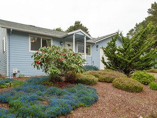 Explore Beverly Beach in this charming three bedroom moments from the beach!
