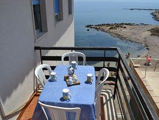 casa bellavista, direttamente sulla spiaggia