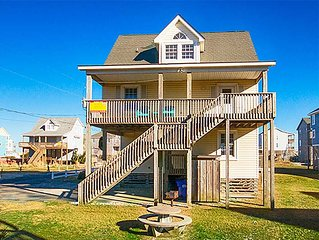Relish in this Oceanview Rodanthe Home w/Hot Tub, Easy Beach Access, DogFriendly