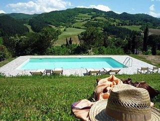 Villa Beatrice è una deliziosa proprietà fra la Toscana e l'Emilia Romagna, pisc