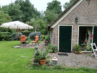 to relax in a beautiful setting with nature, quietness and privacy