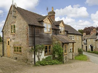 Situated on the edge of the Shropshire Hills, New Inn Cottage, a 2 guest holiday