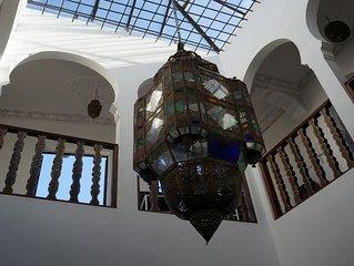 RIAD dans les hauteurs de la Medina de TANGER, une maison incroyable- Chambre 1