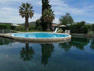 Orange Grove Villa (swimming pool + tennis court)