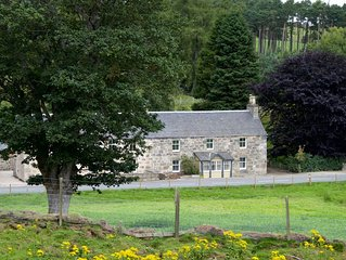 Lovingly restored traditional stone house  in the Cairngorms National Park.
