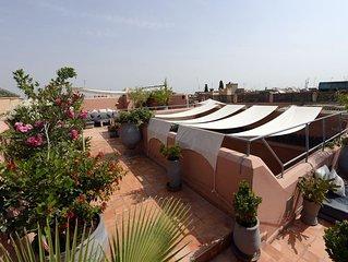 restored fully staffed riad Marrakech Medina. Fully  licensed  maison d hotes