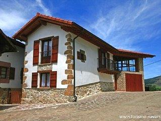 Casa rural (alquiler íntegro) Eltson Etxea para 5 personas