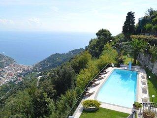 Splendida villa vicino Ravello, Costiera Amalfitana, con piscina privata, bellis