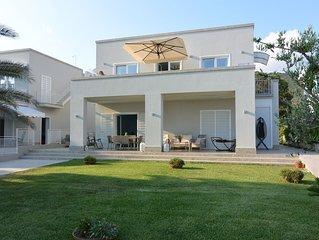 Prestigiosa villa sul mare di Ogliastro Castellabate 6 posti letto