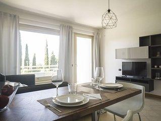 FIORDALISO appartamento con terrazzo vista Lago d'Iseo, 4 posti letto, 2 bagni