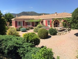 Spacious Family House in foothills of Pyrenees with Pool and Large Garden