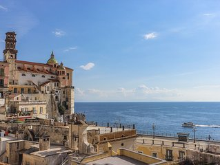 LivingAmalfi: Siren 2 apartment in Atrani, with sea view and close to the beach