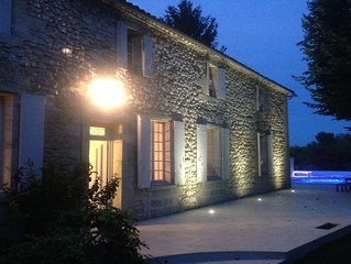 Perfect Family Holiday Retreat, on Dordogne River, Flaujagues, near St Emilion