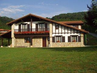 ARTIZARRA, apartamento en casa casa rural para 6 personas