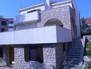 Three bedroom apartment with terrace and sea view Veli Lošinj (Lošinj) (A-16919-