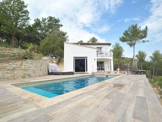 MAGIC DREAM VIEW Architect designed in Authentic Provence 160M²