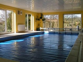Lovely Country House with sole use of large Indoor Swimming Pool