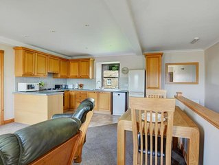 Traditional holiday home with beautiful views over meadows