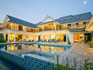 Luxurious 6 Bed Villa,Nr to beach,restaurants,shops & golf courses