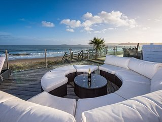 A SEA FRONT CHALET AT THE WARREN,ABERSOCH SIMPLY STUNNING