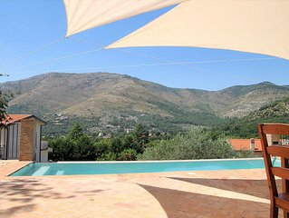 VILLA OASIS Relax & pool for nature lovers on Sperlonga hills