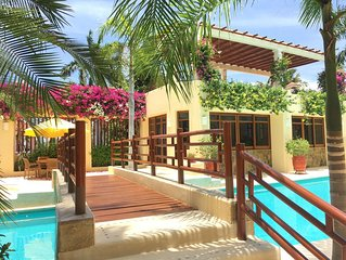 SUPERB CONTEMPORARY CONDO WITH POOL AND 4 MIN FROM CHAHUE BEACH