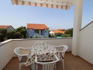 One bedroom apartment with terrace Mandre (Pag) (A-6418-d)