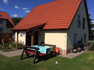 Cottage in Masuria. Mazury famous for its 2,000 lakes.