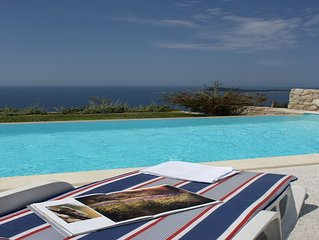Villa Dubrovnik with pool and sea view