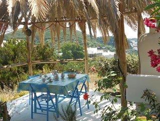 Affittasi villino su due livelli con ampia terrazza vista mare