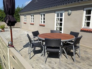 Sillerslev/Øster Assels. Lovely holiday house. 300m. to island's best beach
