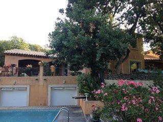 Très belle maison sur 2000 m², proche mer, calme avec jardin et piscine