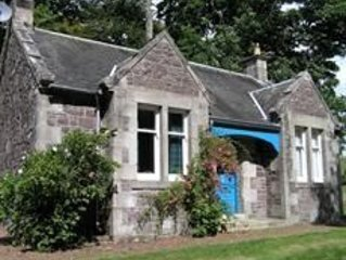 The Butler's Cottage, Carmichael Country Cottages, near Biggar.  Pets welcome.