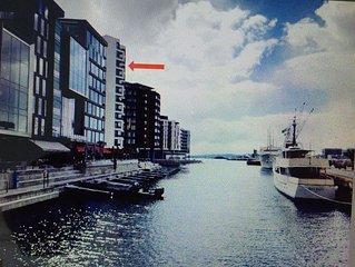 Seafront. Design apartment, 67 m², at Tjuvholmen!