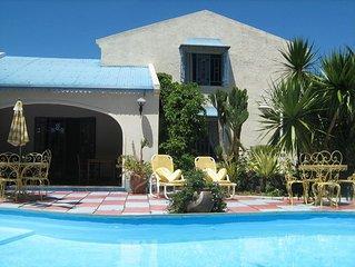 Villa A1 avec piscine et climatisation