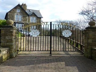 Large detached Victorian property with stunning views and 4G coverage sleeps 10