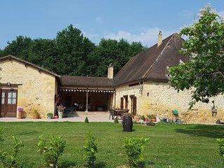 Beautiful 4* Stone Gite in the Dordogne