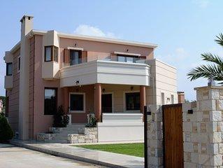 ARandAL villa in Galatas Chania Crete.
