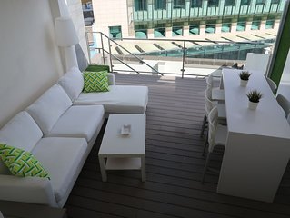Luxury Penthouse in the center (Triana Street) FREE WIFI