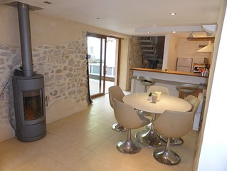 Lovingly restored Contemporary Village House with Plunge Pool Moussan