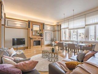 Splendida suite con vista sulla Grande Sinagoga. 110 m2 -WiFi - AC