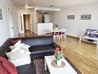 Spacious Opera 603 apartment in Brussels Centre with WiFi & lift.