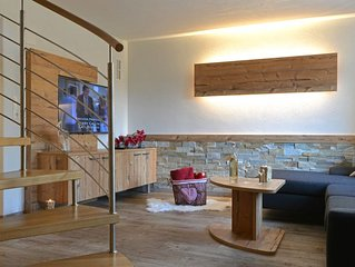 Alpenlodge: Exclusive apartment with private garden and terrace in Stubai valley