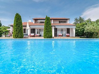 Charming Villa with private pool near Poreč